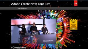 Adobe #CreateNow event
