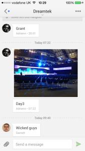 Google+ Hangout mobile
